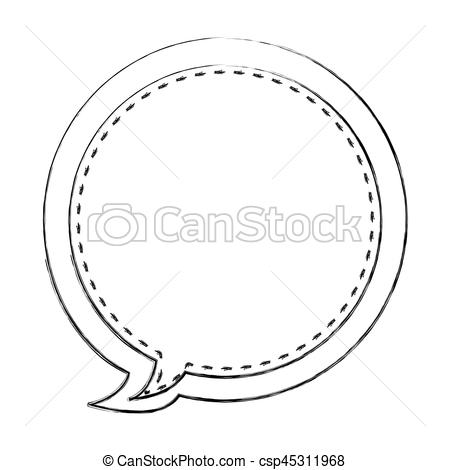 Blur clipart tennis racket Vector blurred contour Art Clip