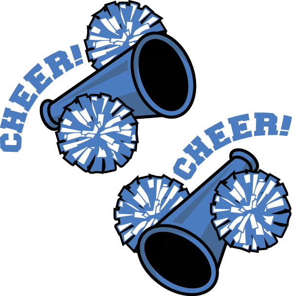 Club clipart pompom Cheerleader BBCpersian7 Blue clipart School