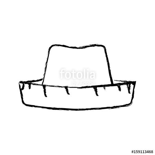 Blur clipart cowboy hat Illustration  of illustration vector