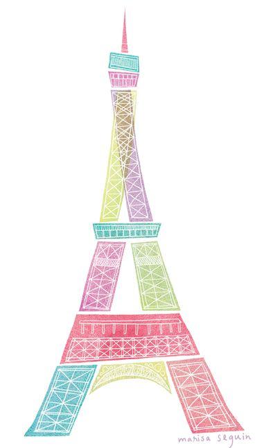 Blur clipart eiffel tower Pink 270 best & Tower