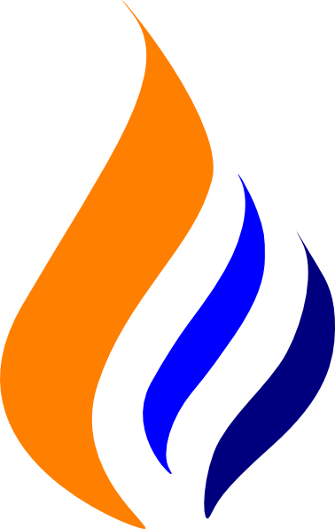 Blur clipart gas flame Free Panda Blue Flame Clipart