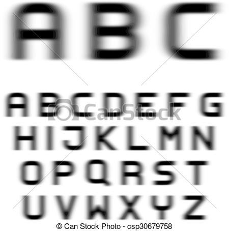 Blur clipart letter a Blur clipart Motion Download #7
