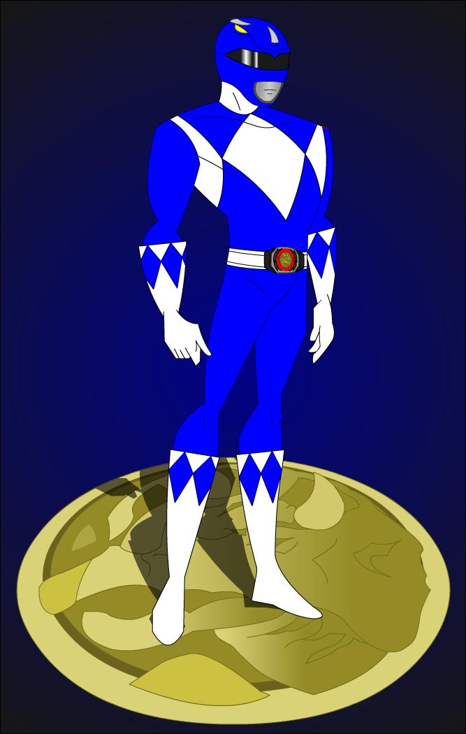 Blur clipart power ranger Rangers power Clipart blue (13+)