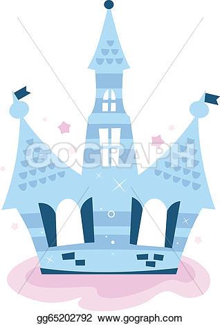 Blur clipart princess crown Princess castle blue sky blue