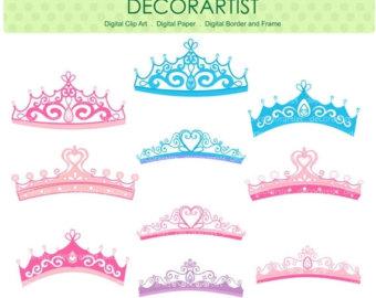 Blur clipart princess crown Crown Etsy pink SALE clipart