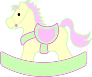 Carousel clipart rocking horse Rocking Clipart Horse Baby Shot
