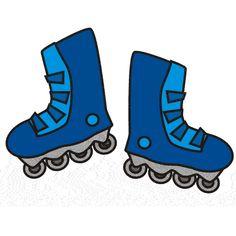 Blur clipart roller skate Clipart Art Image Skating
