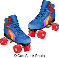 Blur clipart roller skate Royalty Stock Stock ROLLER and