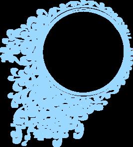 Blur clipart round frame Blue blue circle clip Circle