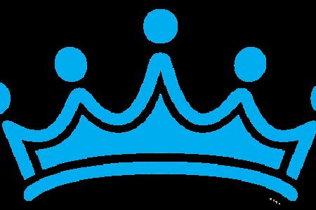 Blur clipart royal crown Art Blue Clkercom Vector Clip