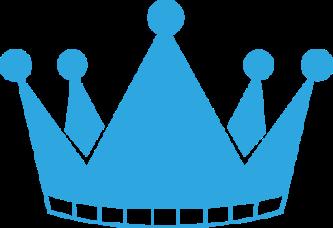 Blur clipart royal crown Clipart Blue Crown ClipartPen «