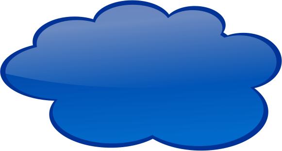 Clouds clipart internet cloud Dark Speech Cloud Clip Art