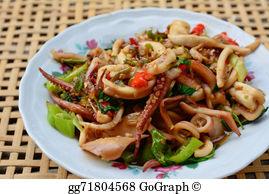 Blur clipart squid Basil squid basil and and