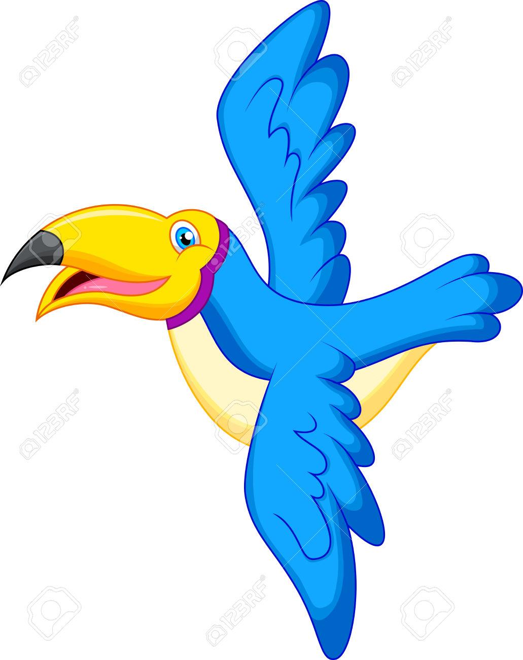 Blur clipart toucan Animal clipart no Blue no