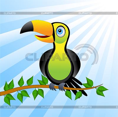 Blur clipart toucan Onishchenko EPS illustration © Vektor