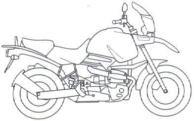 White clipart motorbike Clipart  Bmw Motorcycle