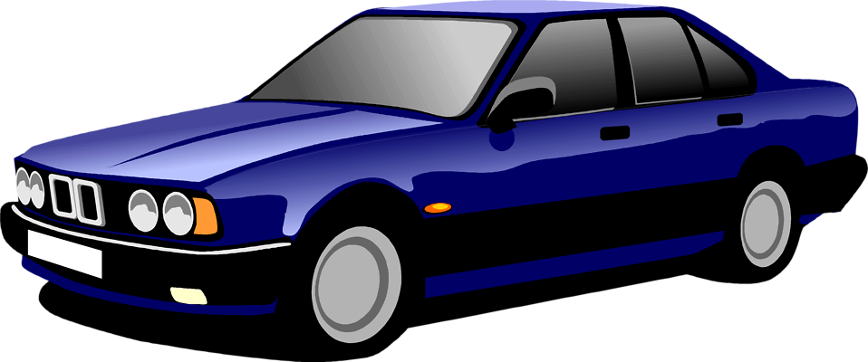 Blue Car clipart cool car Car Illustration a Photo Stock