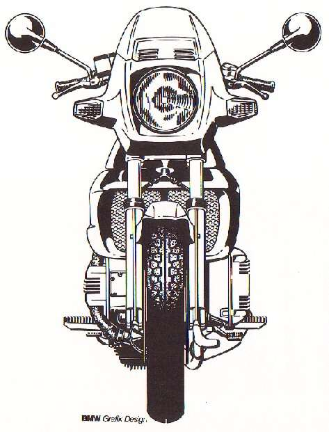 Bike clipart front view  with motor cycle motor