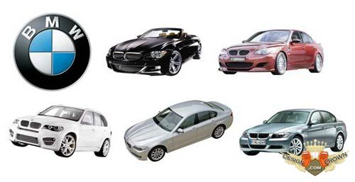 BMW clipart psd BMW with PSD design cars