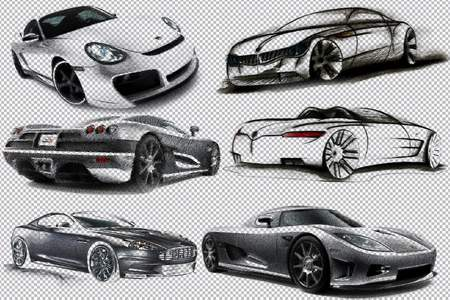 BMW clipart psd ( Cars Clipart download cars