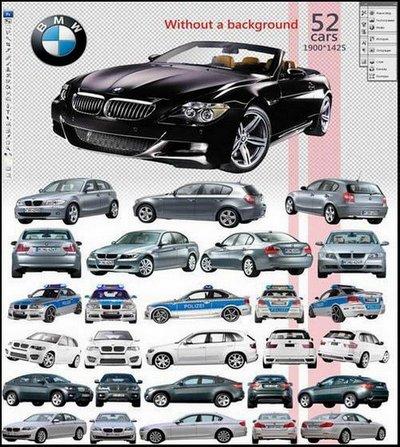 BMW clipart psd PSD BMW Cars (52 PSD