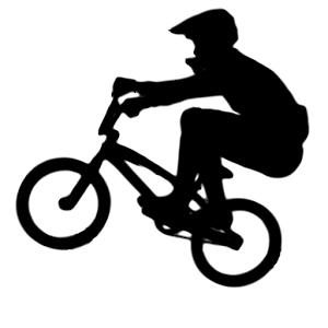 BMX clipart Design Of Synergy rider BMX