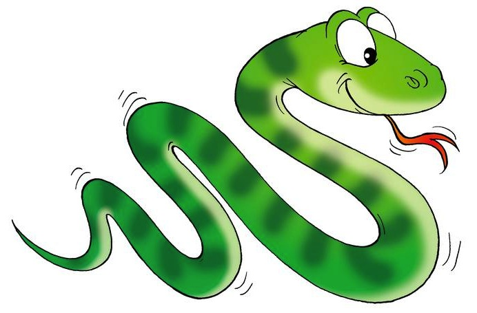 Smooth Green Snake clipart friendly Boa Panda Free Clipart boa%20clipart