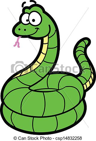 Anaconda clipart desert snake  Happy Illustration constrictor