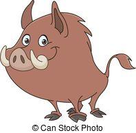 Boar clipart #3