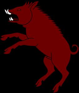Boar clipart #11