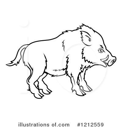 Boar clipart #4