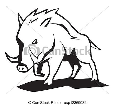 Drawn boar 1 Wild Vectorsby boar boar