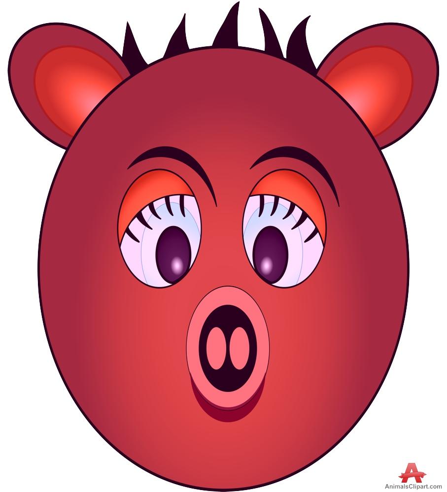Boar clipart face Keywords Clipart Cartoon Clipart the