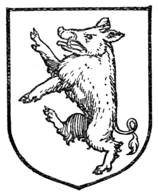 Boar clipart heraldic Animals Medieval and Heroes History: