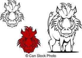 Boar clipart warthog Boar EPS Warthog 314 art