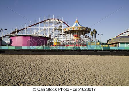 Boardwalk clipart Csp1623017 Roller fashioned and Coaster