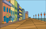 Boardwalk clipart Coaster  california Size: Pictures