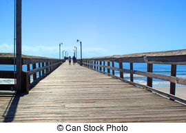 Boardwalk clipart  the and leading wooden
