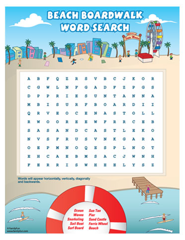 Boardwalk clipart Search (Printable Spoonful for