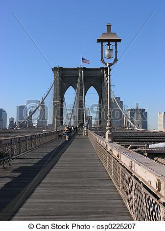 Boardwalk clipart bridge Brooklyn bridge Brooklyn  of
