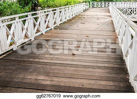 Boardwalk clipart bridge Clipart GoGraph Wooden Stock gg62767019
