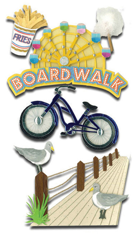 Boardwalk clipart fun Summer Fun Scrapbooking Le Set