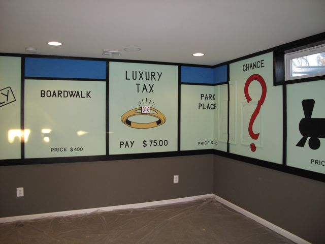 Boardwalk clipart game room Slightly best I Pinterest Monopoly