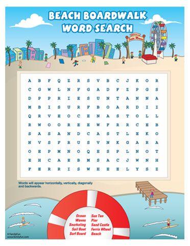 Boardwalk clipart kid fun Images KidsCrossword Word 16 Pinterest