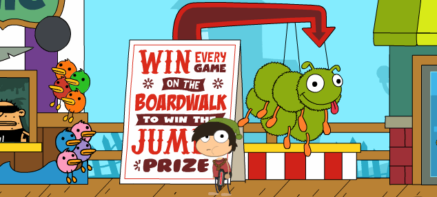 Boardwalk clipart prize Expect never for thieving Greg