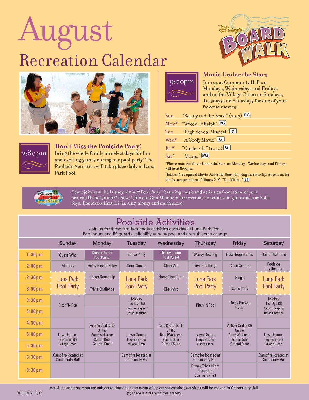 Boardwalk clipart recreational activity Guide com Resort Activities