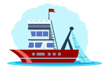 Boat clipart Art fishing Boats Size: Clip