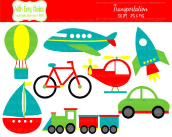 Boat clipart airplane Train Clip graphics 50% Transportation