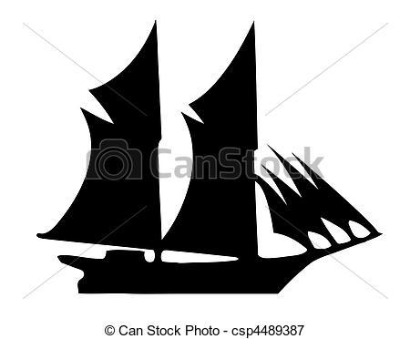 Boat clipart old time Illustration Illustration Vectors of old