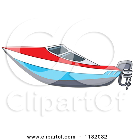 Boat clipart speed boat Free Illustrations Clipart Speed art